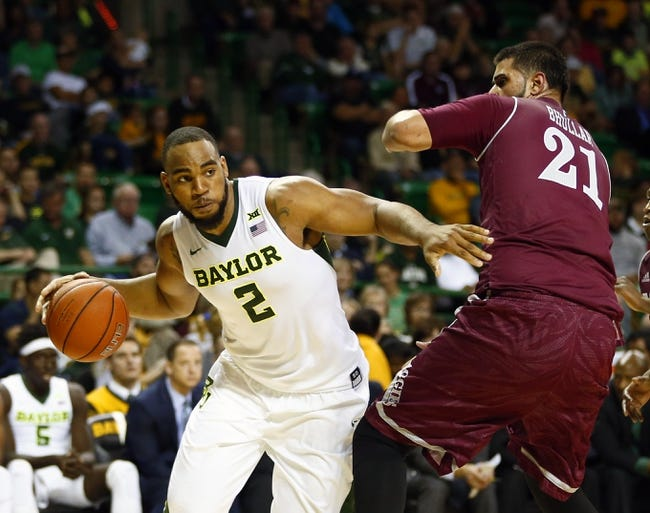 Baylor Bears vs. Texas Southern Tigers - 12/29/15 College Basketball Pick, Odds, and Prediction