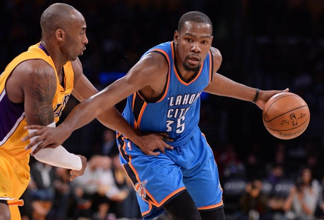 Thunder vs. Lakers - 4/11/16 NBA Pick, Odds, and Prediction