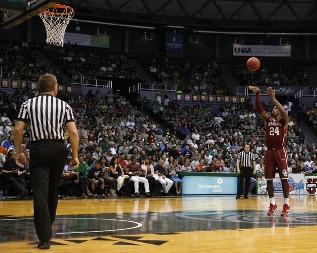 Harvard vs. Oklahoma - 12/25/15 College Basketball Pick, Odds, and Prediction