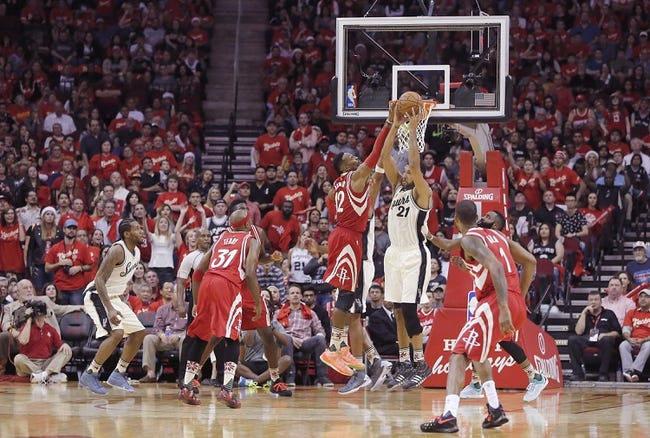 Spurs vs. Rockets - 1/2/16 NBA Pick, Odds, and Prediction