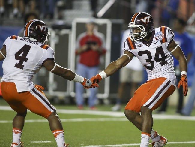 Virginia Tech Hokies vs. Boston College Eagles - 9/17/16 College Football Pick, Odds, and Prediction