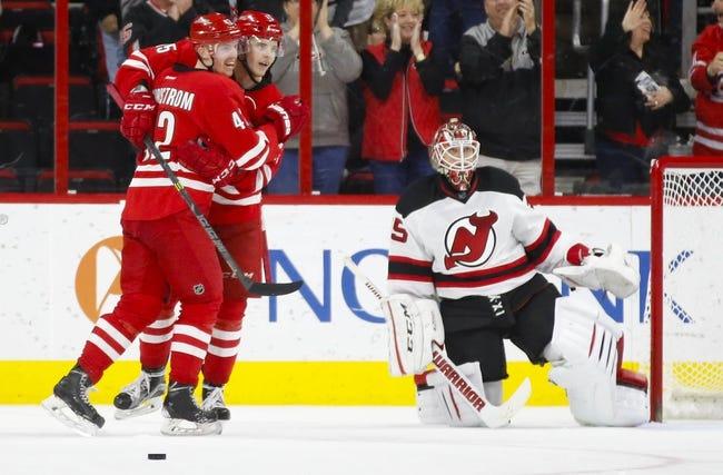 New Jersey Devils vs. Carolina Hurricanes - 12/29/15 NHL Pick, Odds, and Prediction
