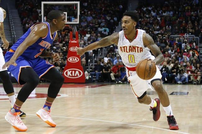 New York Knicks vs. Atlanta Hawks - 1/3/16 NBA Pick, Odds, and Prediction