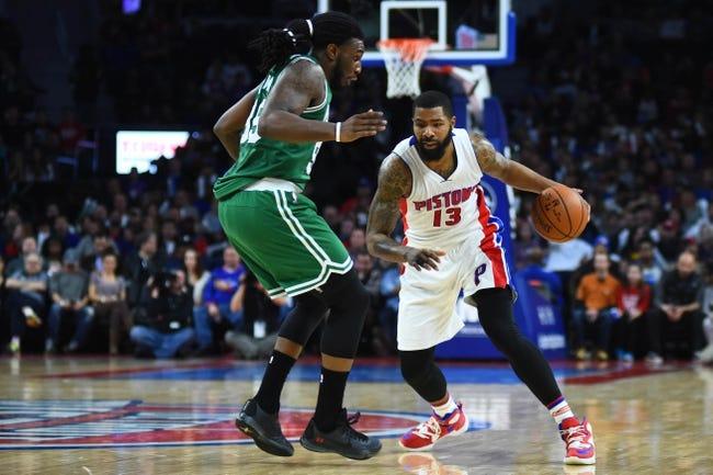 Boston Celtics vs. Detroit Pistons - 1/6/16 NBA Pick, Odds, and Prediction