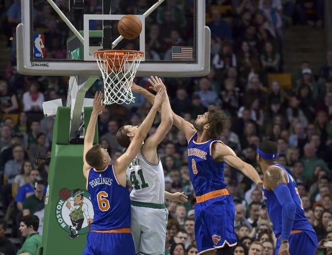 Celtics at Knicks - 1/12/16 NBA Pick, Odds, and Prediction