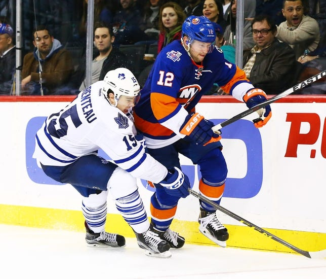 Toronto Maple Leafs vs. New York Islanders - 12/29/15 NHL Pick, Odds, and Prediction