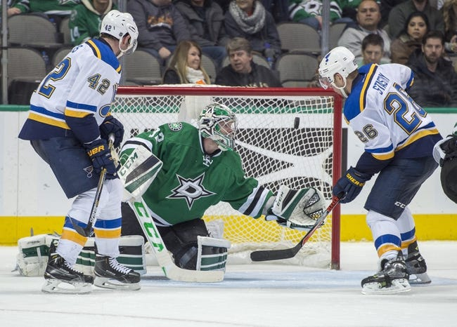 Blues vs. Stars - 2/16/16 NHL Pick, Odds, and Prediction