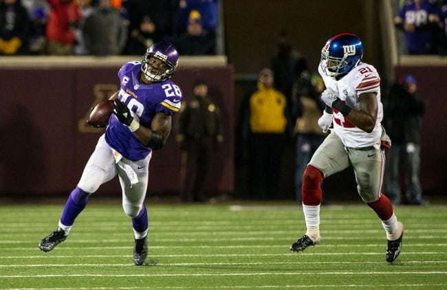 New York Giants at Minnesota Vikings 12/27/15 NFL Score, Recap, News and Notes