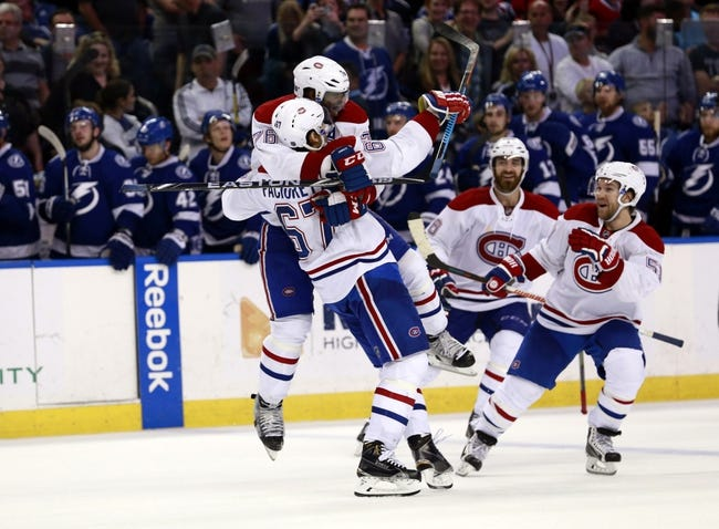 Montreal Canadiens vs. Tampa Bay Lightning - 2/9/16 NHL Pick, Odds, and Prediction