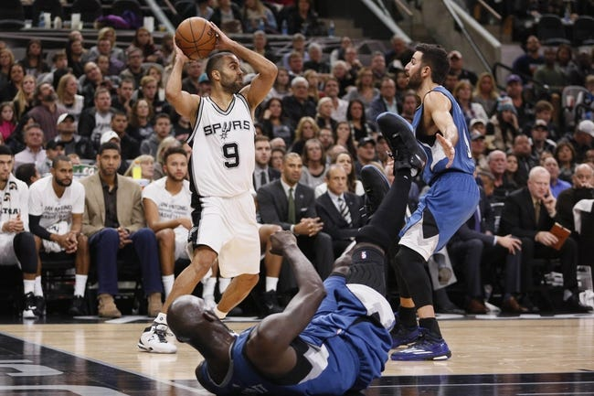 Timberwolves vs. Spurs - 3/8/16 NBA Pick, Odds, and Prediction
