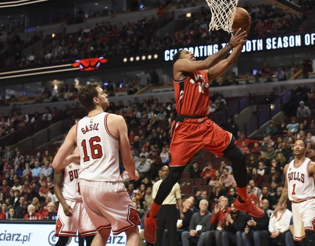 Toronto Raptors vs. Chicago Bulls - 1/3/16 NBA Pick, Odds, and Prediction