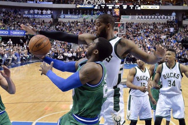 Bucks vs. Mavericks - 1/8/16 NBA Pick, Odds, and Prediction