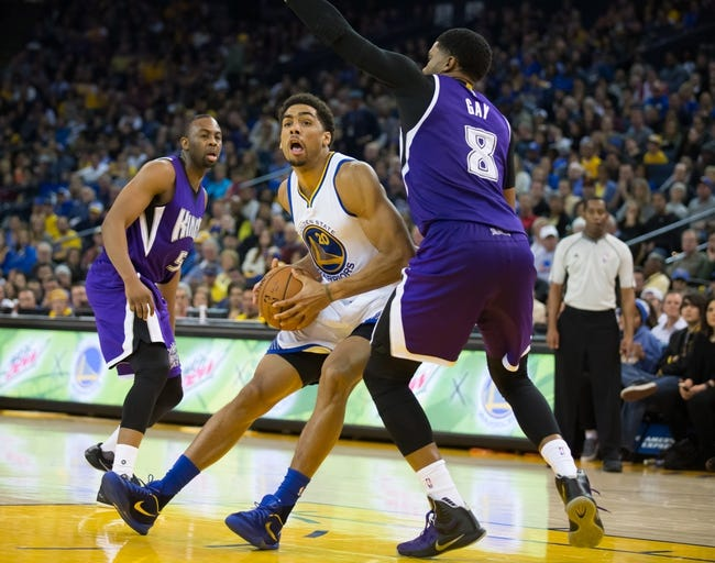 Sacramento Kings vs. Golden State Warriors - 1/9/16 NBA Pick, Odds, and Prediction