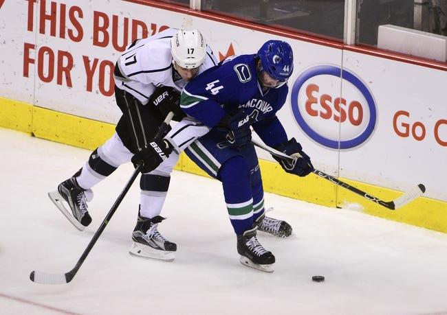 Kings vs. Canucks - 3/7/16 NHL Pick, Odds, and Prediction