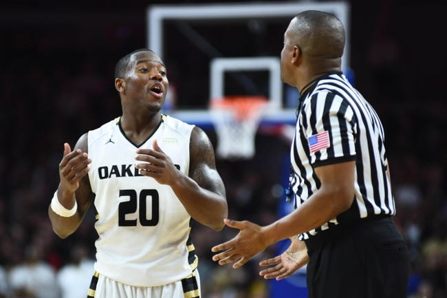 Oakland vs. Cleveland State - 1/2/16 College Basketball Pick, Odds, and Prediction
