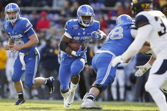Air Force Falcons 2016 College Football Preview, Schedule, Prediction, Depth Chart, Outlook
