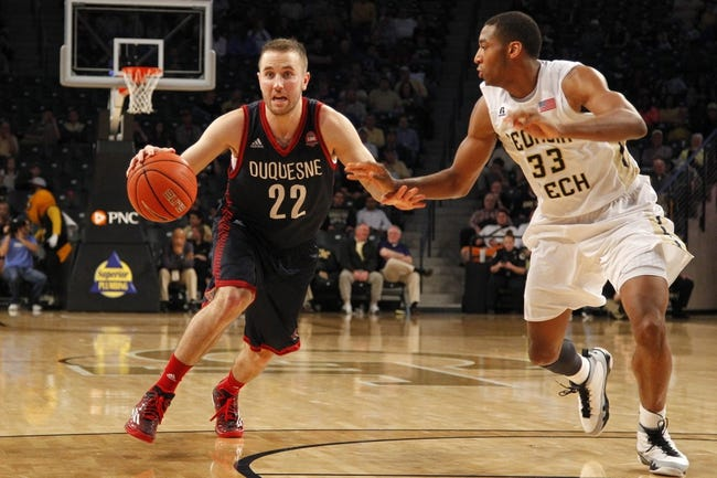 Duquesne Dukes vs. La Salle Explorers - 1/26/16 College Basketball Pick, Odds, and Prediction