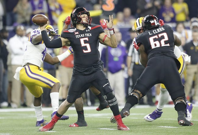 Texas Tech Red Raiders 2016 College Football Preview, Schedule, Prediction, Depth Chart, Outlook