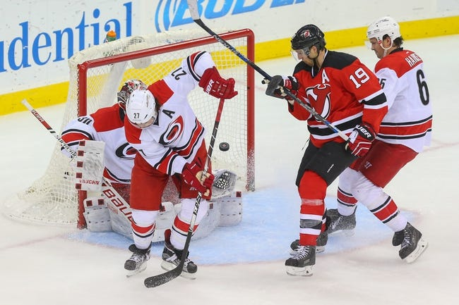Carolina Hurricanes vs. New Jersey Devils - 3/27/16 NHL Pick, Odds, and Prediction