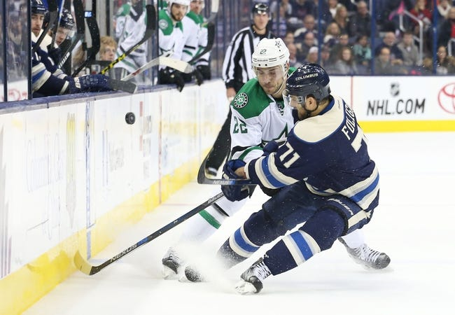 Columbus Blue Jackets vs. Dallas Stars - 11/1/16 NHL Pick, Odds, and Prediction