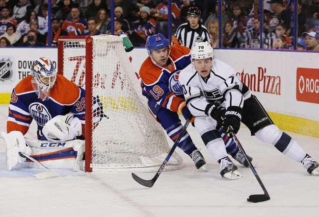 Kings vs. Oilers - 2/25/16 NHL Pick, Odds, and Prediction