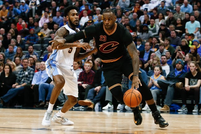 Cleveland Cavaliers vs. Denver Nuggets - 3/21/16 NBA Pick, Odds, and Prediction