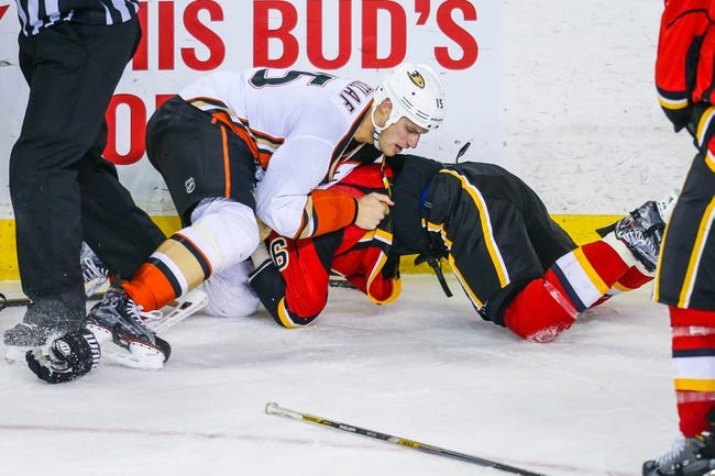 Flames vs. Ducks - 2/15/16 NHL Pick, Odds, and Prediction