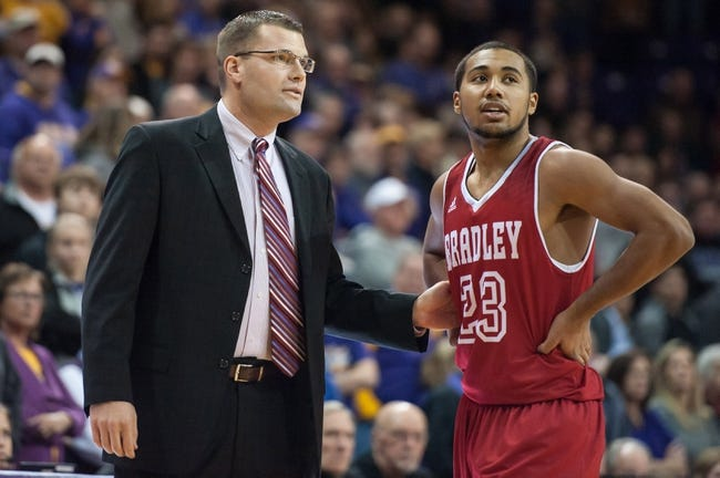 Bradley vs. Indiana State - 2/6/16 College Basketball Pick, Odds, and Prediction