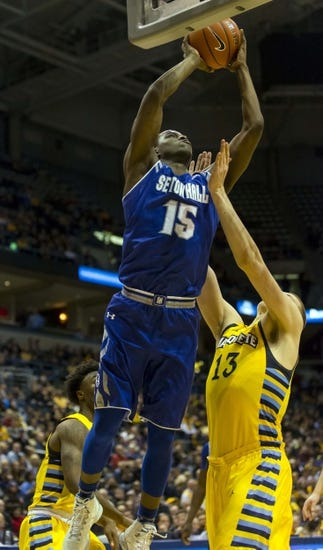 Seton Hall Pirates vs. Marquette Golden Eagles - 2/3/16 College Basketball Pick, Odds, and Prediction