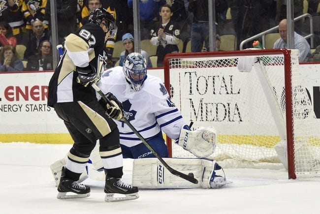 Pittsburgh Penguins vs. Toronto Maple Leafs - 11/12/16 NHL Pick, Odds, and Prediction
