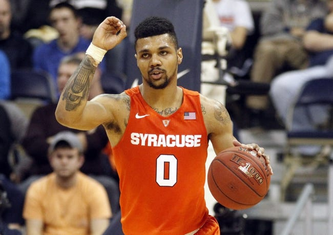 Syracuse vs. Clemson - 1/5/16 College Basketball Pick, Odds, and Prediction