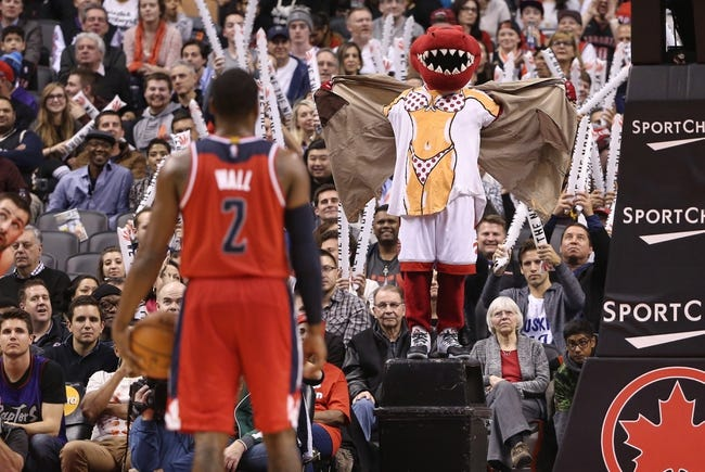 Washington Wizards vs. Toronto Raptors - 1/8/16 NBA Pick, Odds, and Prediction