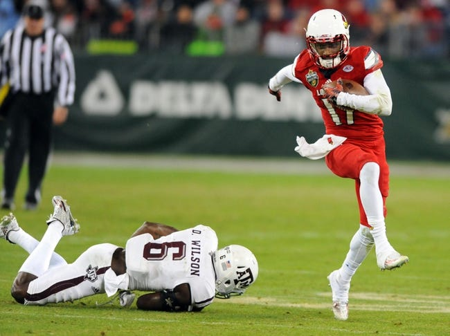 Charlotte 49ers at Louisville Cardinals - 9/1/16 College Football Pick, Odds, and Prediction