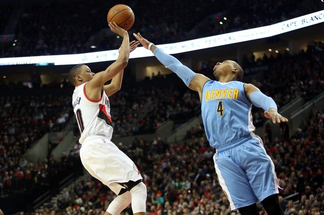 Nuggets vs. Trail Blazers - 1/3/16 NBA Pick, Odds, and Prediction