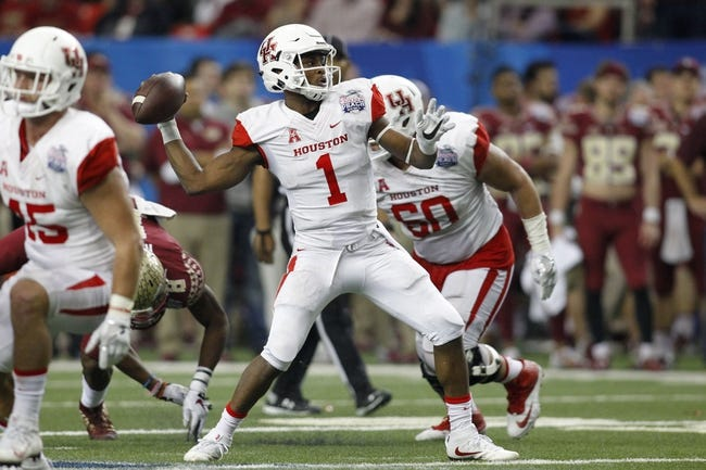 Houston vs. Oklahoma - 9/3/16 College Football Pick, Odds, and Prediction