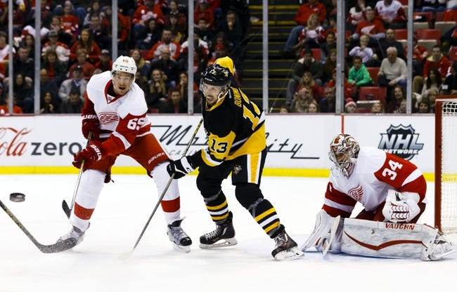 Penguins vs. Red Wings - 2/18/16 NHL Pick, Odds, and Prediction