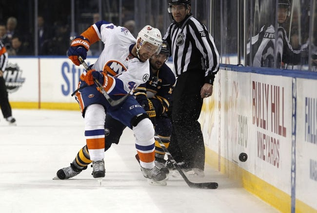 Islanders vs. Sabres - 4/9/16 NHL Pick, Odds, and Prediction