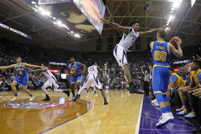 Washington Huskies vs. USC Trojans - 1/3/16 College Basketball Pick, Odds, and Prediction