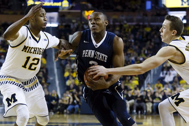 Penn State vs. Michigan - 1/30/16 College Basketball Pick, Odds, and Prediction