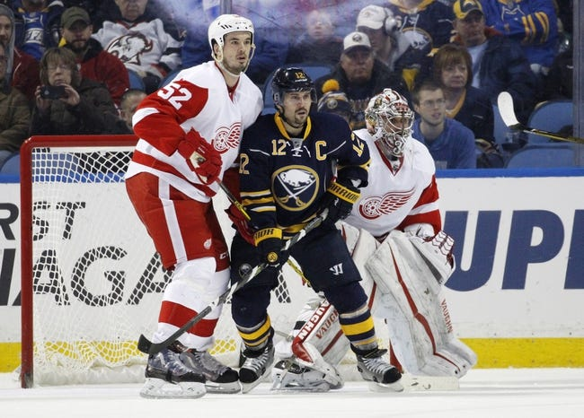 Sabres vs. Red Wings - 1/22/16 NHL Pick, Odds, and Prediction