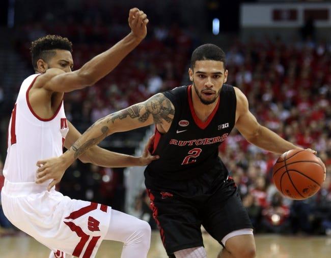 Rutgers Scarlet Knights vs. Nebraska Cornhuskers - 1/9/16 College Basketball Pick, Odds, and Prediction