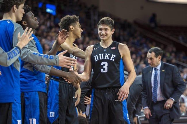Duke vs. Virginia Tech - 1/9/16 College Basketball Pick, Odds, and Prediction