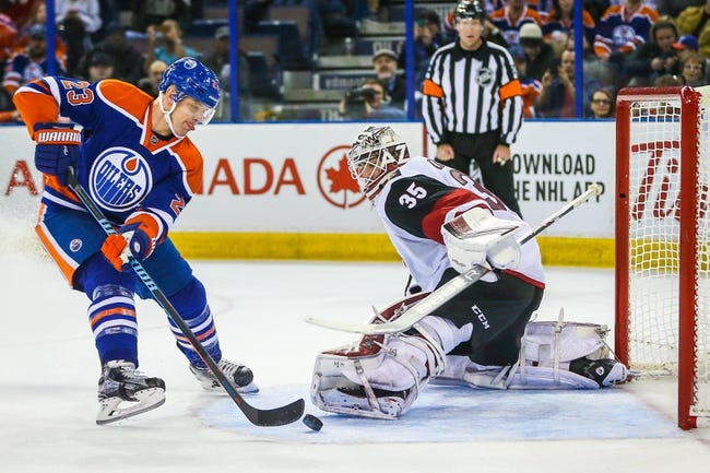 Arizona Coyotes vs. Edmonton Oilers - 1/12/16 NHL Pick, Odds, and Prediction