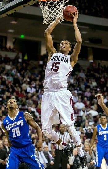 Auburn Tigers vs. South Carolina Gamecocks - 1/5/16 College Basketball Pick, Odds, and Prediction