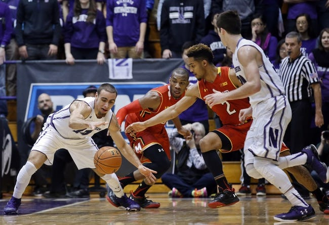 Maryland vs. Northwestern - 1/19/16 College Basketball Pick, Odds, and Prediction