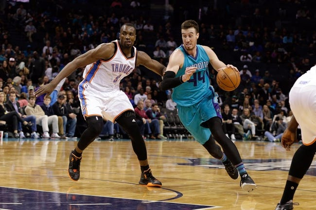 Oklahoma City Thunder vs. Charlotte Hornets - 1/20/16 NBA Pick, Odds, and Prediction