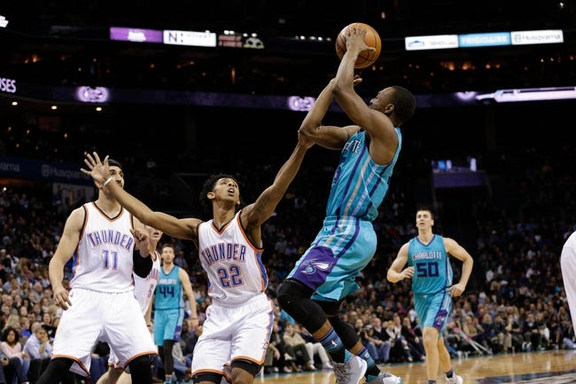 Hornets at Thunder - 1/20/16 NBA Pick, Odds, and Prediction