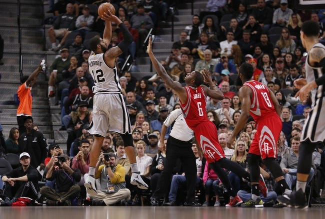 Spurs vs. Rockets - 1/27/16 NBA Pick, Odds, and Prediction