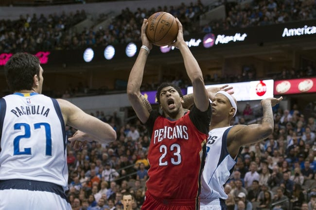 Dallas Mavericks at New Orleans Pelicans - 1/6/16 NBA Pick, Odds, and Prediction