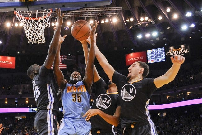 Denver Nuggets vs. Golden State Warriors - 1/13/16 NBA Pick, Odds, and Prediction